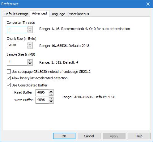 UTFCast Professional, Batch UTF Converter, Convert Text to UTF-8