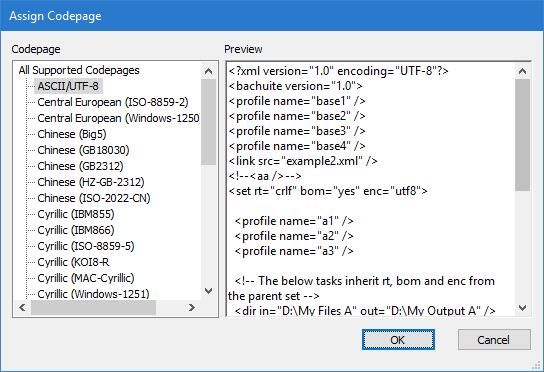 UTFCast Professional, Batch UTF Converter, Convert Text to